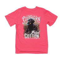 Reed Tee Shirt in Watermelon by Southern Fried Cotton