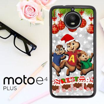 Alvin And The Chipmunks And The Chipettes D0268 Motorola Moto E4 Plus Case