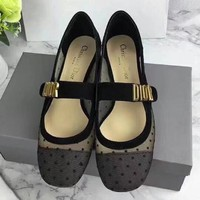 Dior  Women Fashion Simple  Casual Loafers  Shoes
