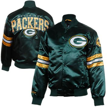 Green Bay Packers Prime Satin Jacket - from offense