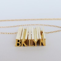 Hidden Message Necklace