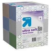 Ultra Soft Facial Tissue - 120ct 6pk - up & up™