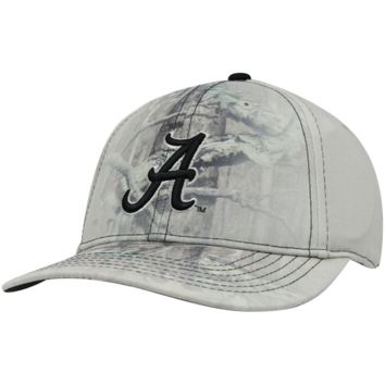 Top Of The World Alabama Crimson Tide Battle Fade One-Fit Hat - Mossy Oak Camo