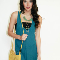 Free People Washed Ashore Tank - Washed Jade