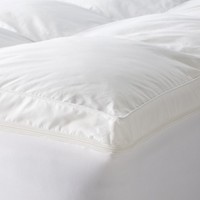 "4"" Dual Mattress Topper - White"