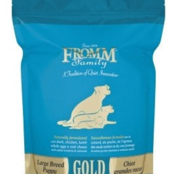 FROMM DOG DRY - GOLD LARGE BREED PUPPY 5LB -  - FROMM PET FOODS - UPC: 72705105571 - DEPT: FROMM PET FOOD