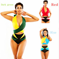 Tankini Backless Swimsuits - 4 colors