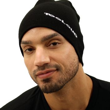 TooLoud Solid Color Premium Knit Beanie