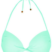 Aqua Plunge Bikini Top - Swimwear  - Clothing