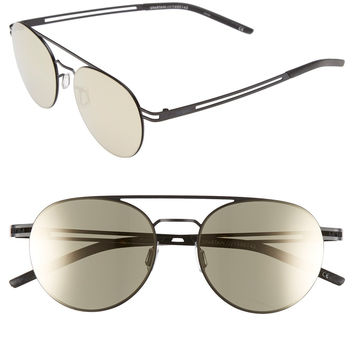 Le Specs Spartan 51mm Aviator Sunglasses
