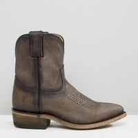 Frye Billy Short Leather Western Boots