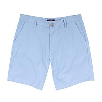Performance Short in Light Blue by Southern Point Co. - FINAL SALE