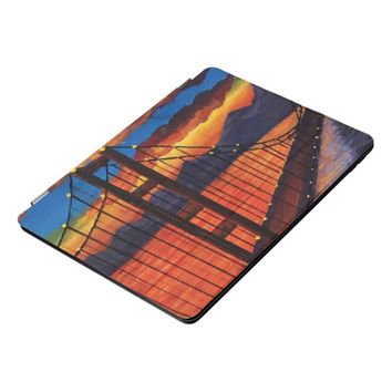 Golden Gate Bridge Acrylic painting ipad cover