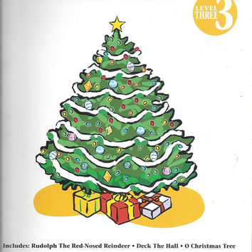 1997 Vintage Christmas Piano Solos, Level 3, Arrange Kern, Keveren, Rejino, 23 Pages, 11 Songs, Hal Leonard Pub. Vintage Music Book, Holiday