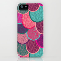 Fish Scales and Mermaid Tales iPhone & iPod Case by Lydia Meiying