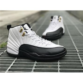 Air Jordan Retro 12 Xii Unisex Basketball Shoes Sneakers Athletics Boots | Best Deal Online