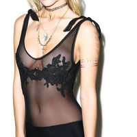For Love & Lemons Dahlia Bodysuit