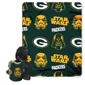 Green Bay Packers NFL Star Wars Darth From For Die Hard Fans Stunning Green Bay Packers Throw Blanket