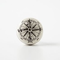 Compass Knob by Anthropologie in Ivory Size: One Size Knobs