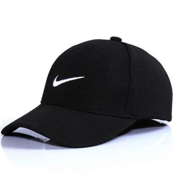 DCCK7XP NIKE GOLF NEW Adjustable Fit DRI FIT SWOOSH FRONT BASEBALL CAP HAT