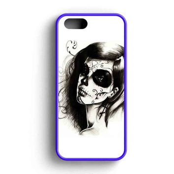 Sugar Skull iPhone 5 Case iPhone 5s Case iPhone 5c Case