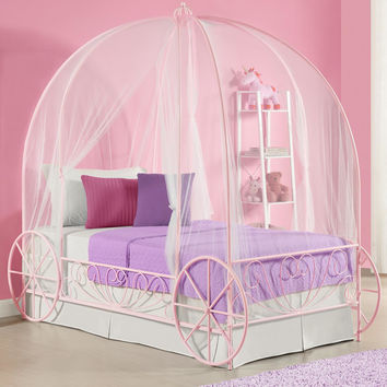 DHP Twin Canopy Bed You'll Love | Wayfair