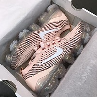 NIKE AIR VAPORMAX Knitted Surface Breathable Suspension Anti-Abrasion Running Shoes