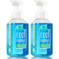 Bath & Body Works Gentle Foaming Hand Soap: Cool Coconut Colada (Pack of 2)