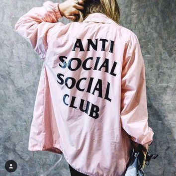 Anti Social Social Club 17ss Jacket S Xl | Best Deal Online