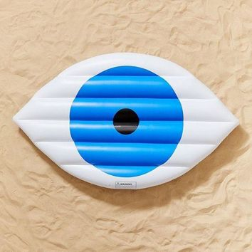 ONETOW Working Girls Eye Pool Float | Urban Outfitters