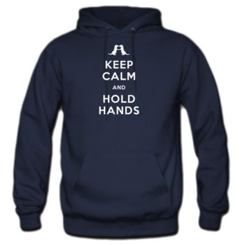 Keep Calm and Hold Hands Hoodie