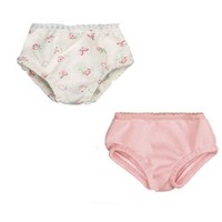 Pink & Print Doll Underwear Set, Fits 18 Inch American Girl Dolls, by Sophia's, Doll Panties Set