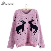 Women's Pullovers preppy casual sweater