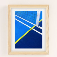 Jonathan Lo Court Play Art Print | Urban Outfitters