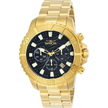 Invicta Men's 24000 Pro Diver Quartz Multifunction Black Dial Watch