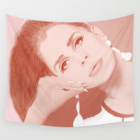 LANA Wall Tapestry by bilustra
