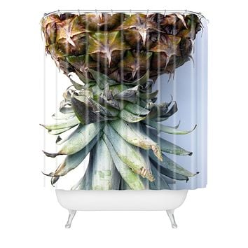 Deb Haugen Pineapple 2 Shower Curtain