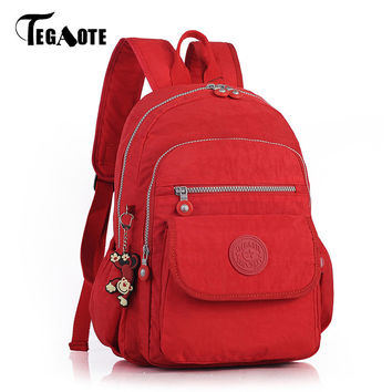 TEGAOTE 2017 New 16 Colors Small Backpack for Teenage Girls Female Backpacks Mochila Feminina Escolar Casual Mini Women Bagpack
