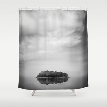 The vessel Shower Curtain by HappyMelvin