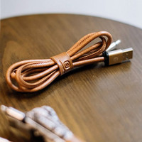 Leather Lightning Cable for iPhone 5s 6s 6 plus