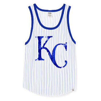 Kansas City Royals Bling Tank - PINK - Victoria's Secret