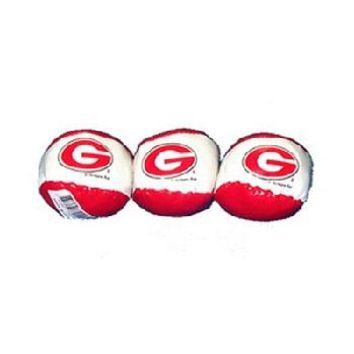 university of georgia ball hacky sack g 24 display Case of 96