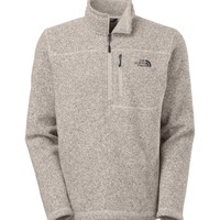 The North Face Gordon Lyons Quarter Zip Pullover in Dune Beige Heather for Men CUA8- 7C7