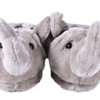 Elephant Animal Feet Slippers : Animal Feet : Happy Feet Slippers : BuyHappyFeet.com : snookislippers.com