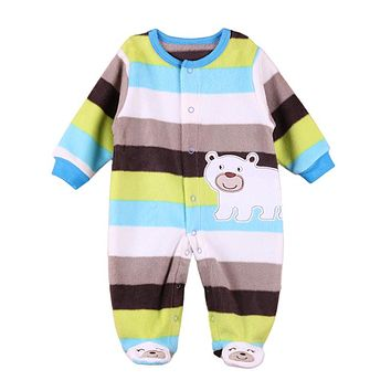 Toddler Baby Rompers Spring Baby Boy Clothing Cartoon Newborn Baby Clothes Roupas Bebe Cotton Baby Girl Clothes Infant Jumpsuits