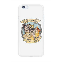 Cats Against Catcalls -- Phone Case