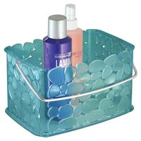 Pebblz Bath Caddy in Blue | Dorm Bedding and Bath | OCM.com