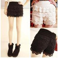 Floral shredded shorts- PRE ORDER