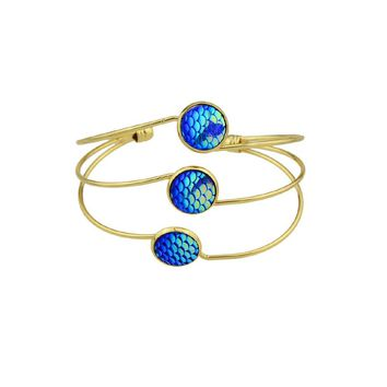 Blue Mermaid Multilayer Love Bracelet