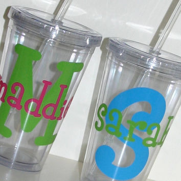 Personalized 16 oz. Insulated Acrylic Tumbler